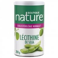 Lecithine de Soja granulee - Pot 200g Boutique nature