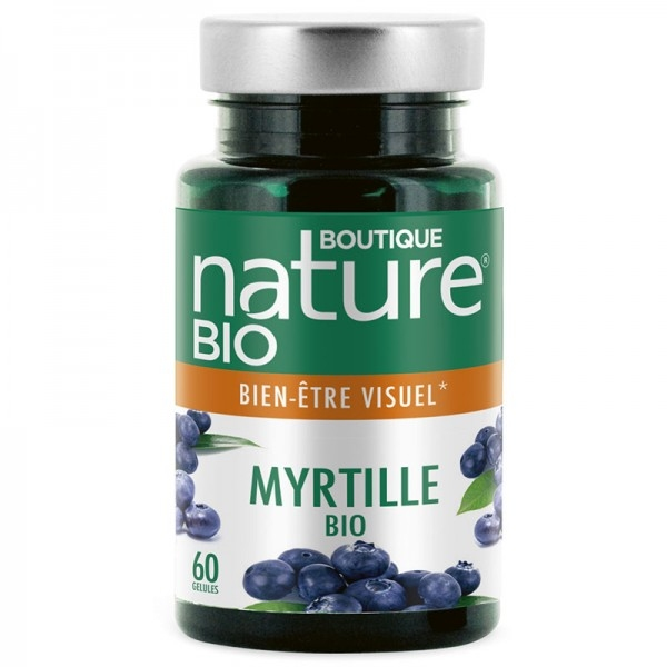 Myrtille Bio - 60 gelules Boutique nature