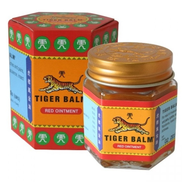 Baume du Tigre Rouge veritable - Pot 30 g Tiger Balm