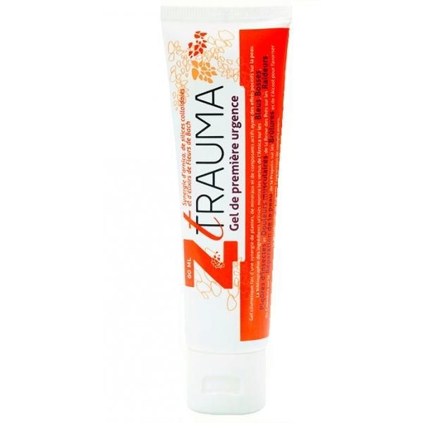 Z trauma Gel Bio - 1ere Urgence Tube 60 ml
