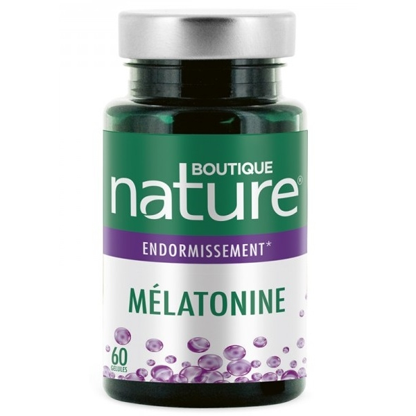 Melatonine - 60 gelules Boutique nature