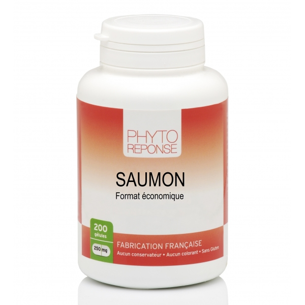 Huile Saumon 200 capsules Phytoreponse