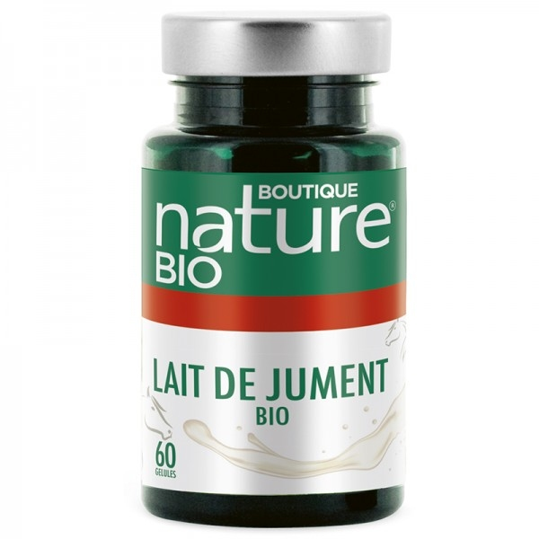 Lait de jument Bio - 60 gelules Boutique nature