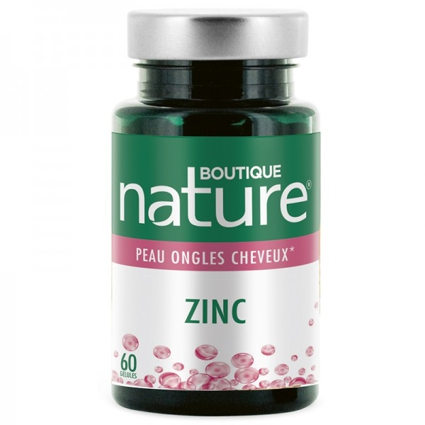 Zinc - 60 gelules Boutique nature
