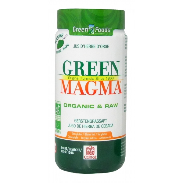 Green Magma - Jus herbe orge Bio Poudre 150 g