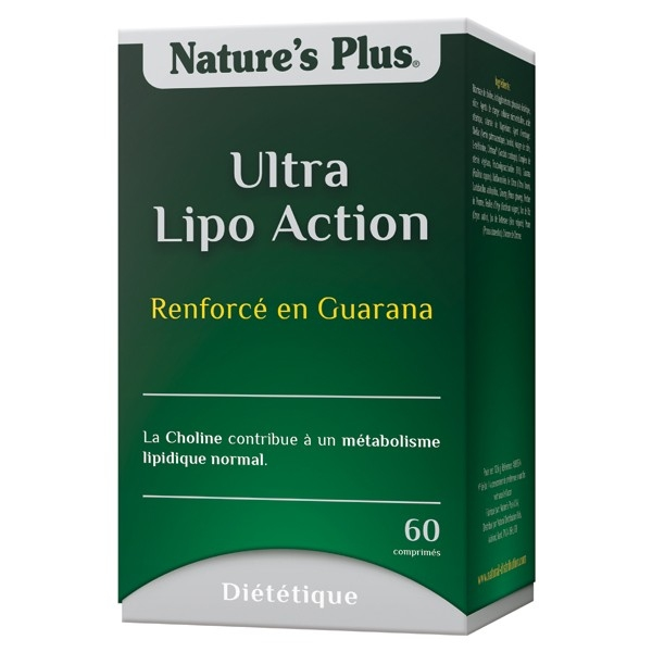 Ultra Lipo Action - 60 comprimes Natures Plus
