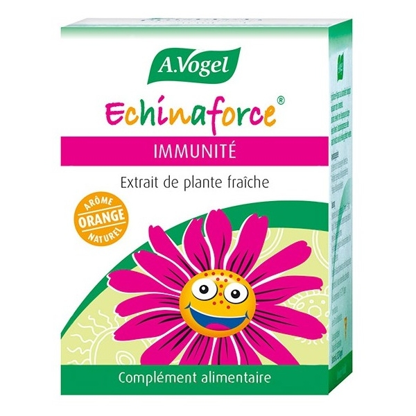 Echinaforce Immunite Junior 120 comprimes Vogel