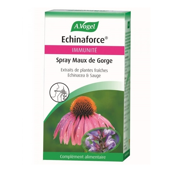 Spray Maux de gorge Echinaforce - Flacon 30 ml Vogel
