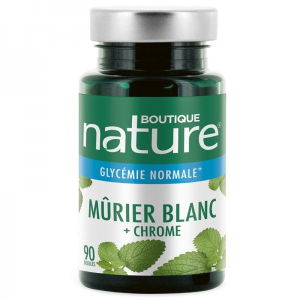 Murier Blanc et Chrome - 90 gelules Boutique nature