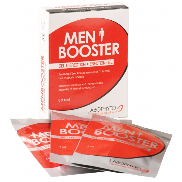 Men Booster Pochettes gel erection Labophyto