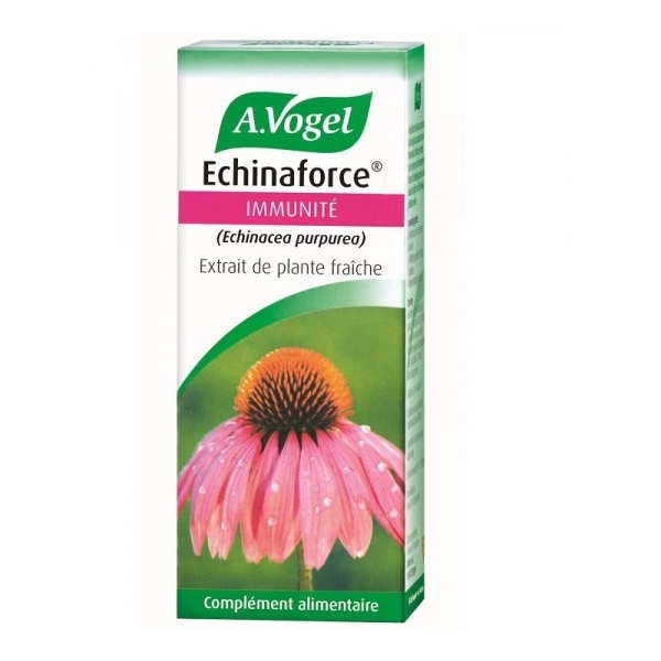 Echinaforce Immunite - Echinacea Extrait de Plante Fraiche 100ml Vogel