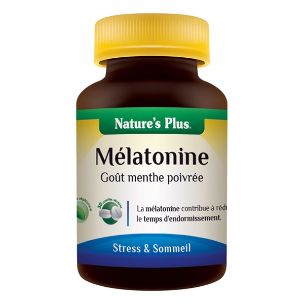 Melatonine B6 - 30 comprimes Natures Plus