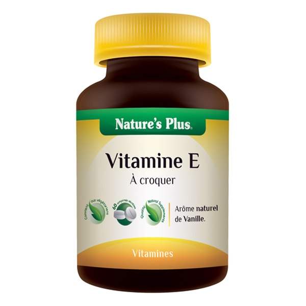 Vitamine E 120 mg - 60 comprimes Natures Plus