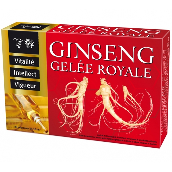 Ginseng - Gelee royale 20 ampoules Nutri expert
