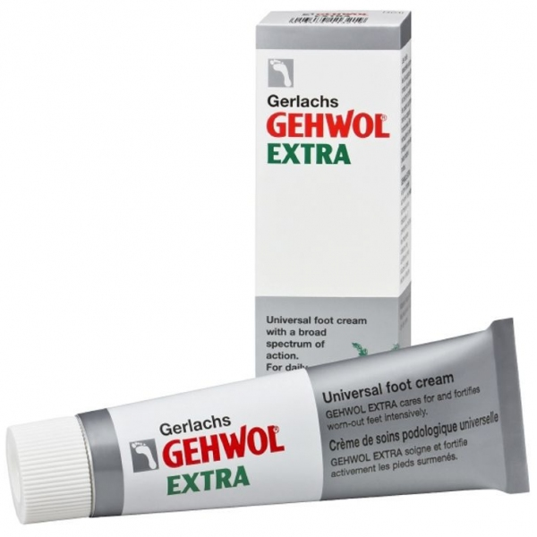 Creme Extra - Soins Pieds universel - Tube 75ml Gehwol