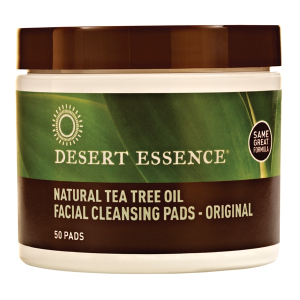 Nettoyant visage Disques Hamamelis Arbre a The - Desert Essence