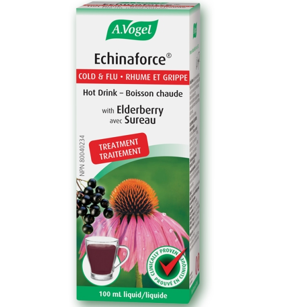 Echinaforce boisson Echinacea - Sureau Flacon 100ml Vogel