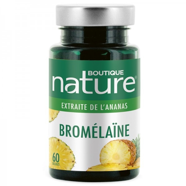 Bromelaine 310 mg - 60 gelules Boutique nature