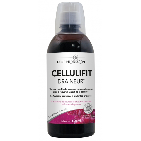 Cellulifit Draineur cellulite - Flacon 500 ml Diet Horizon