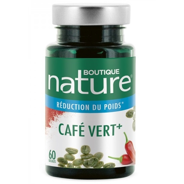 Cafe Vert 500 mg - 60 gelules Boutique nature