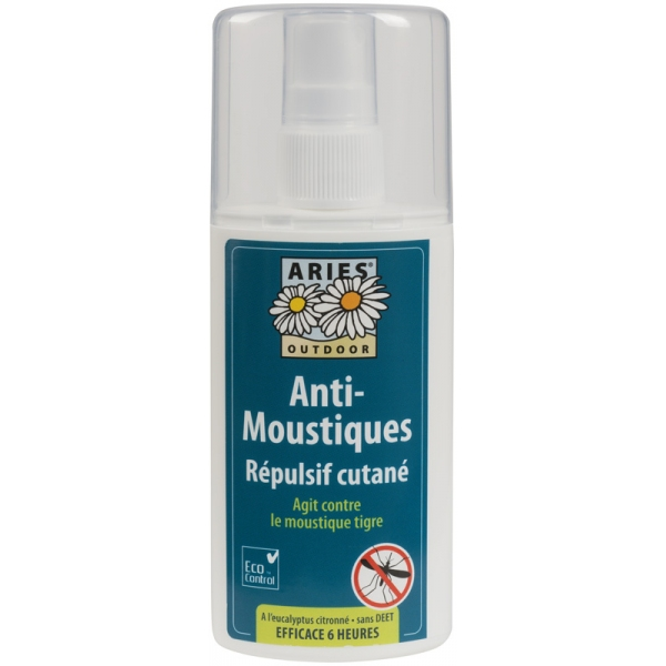 Anti-Moustiques Cutané Spray 100ml Aries