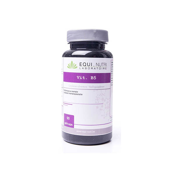 Vitamine B5 Acide Pantothenique - 90 gelules Equi Nutri