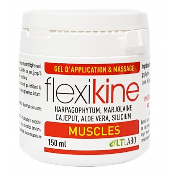 FlexiKine Gel articulaire - Pot 150 ml LT labo