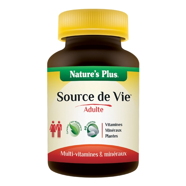 Source de Vie Adulte - 90 comprimes Nature's Plus