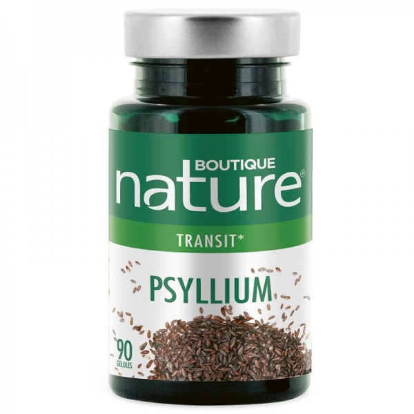 Psyllium blond - 90 gelules Boutique nature