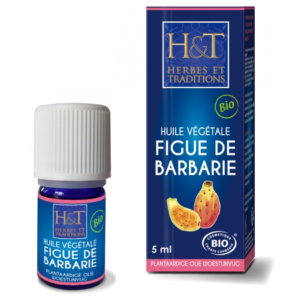 Figue de Barbarie - Huile vegetale de pepins 5 ml Herbes Traditions