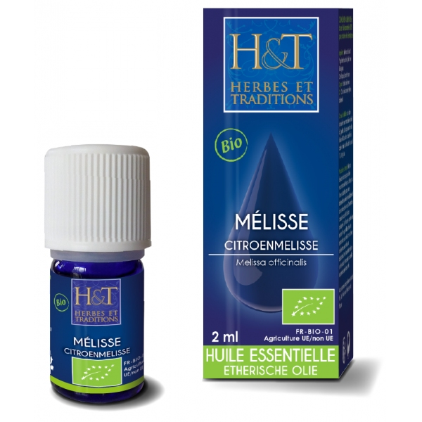 Melisse - Huile essentielle Bio 2 ml Herbes Traditions