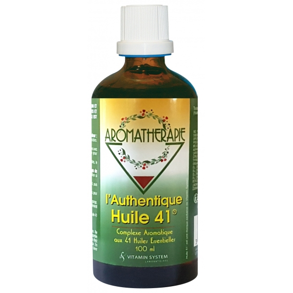 Huile 41 originale - Flacon 100ml Vitamin System