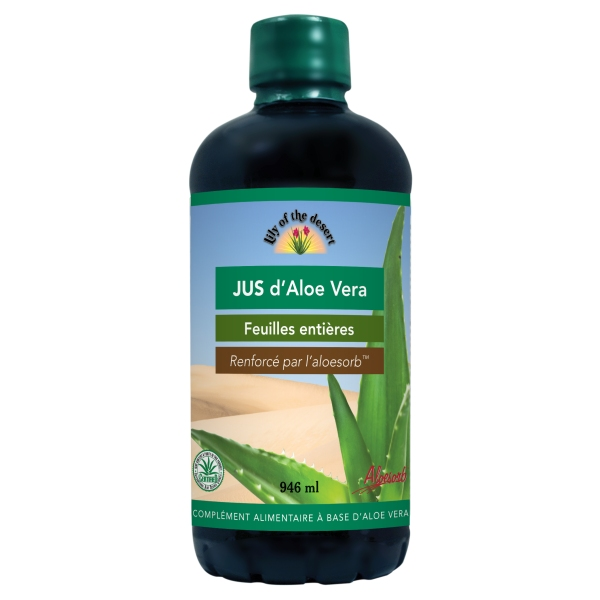 Jus Aloe Vera - Flacon 946 ml Lily of the Desert