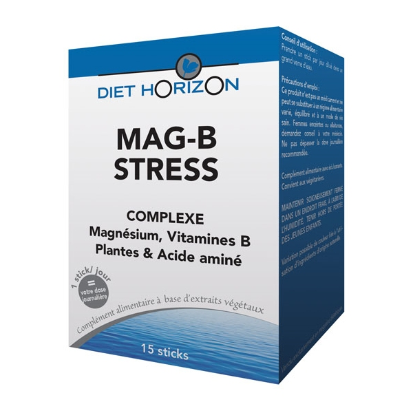 Mag-B Stress - magnesium 15 sticks Diet Horizon