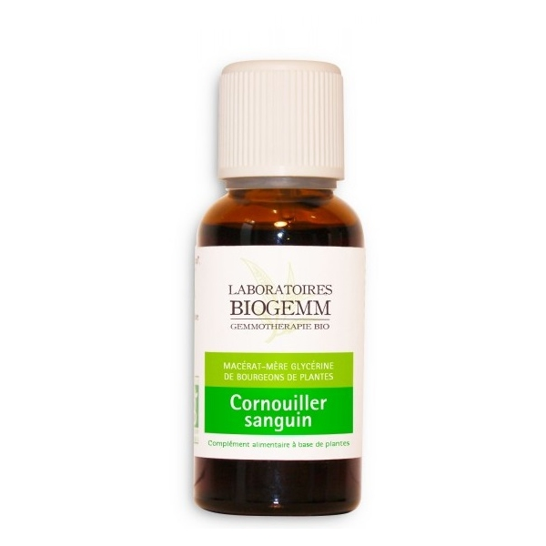 Cornouiller Sanguin - Flacon 30ml Biogemm