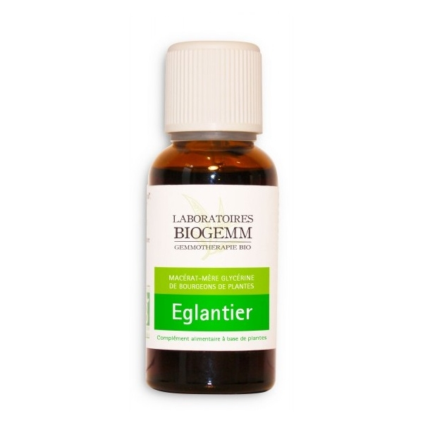 Eglantier Bio Bourgeon - Flacon 30ml Biogemm