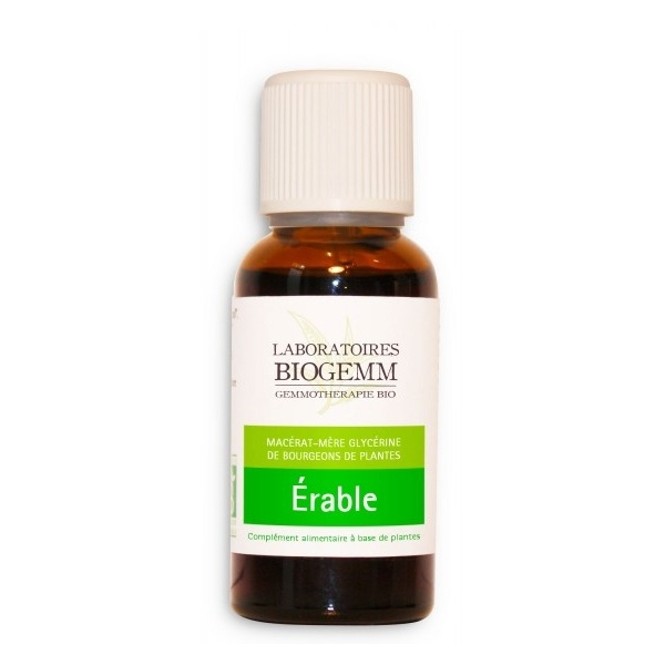 Erable Bio Bourgeon - Flacon 30ml Biogemm