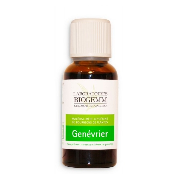 Genevrier Bio Bourgeon - Flacon 30ml Biogemm