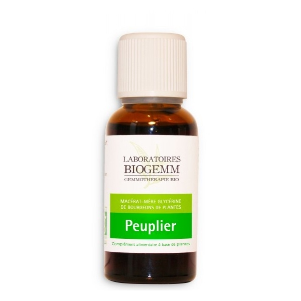 Peuplier Bio Bourgeon - Flacon 30ml Biogemm