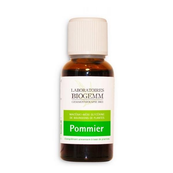 Pommier Bio Bourgeon - Flacon 30ml Biogemm