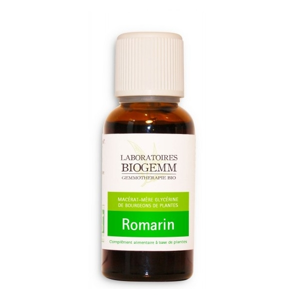 Romarin Bio Bourgeon - Flacon 30ml Biogemm