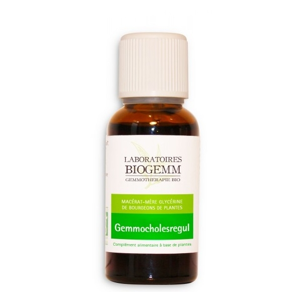 Gemmo Cholesregul - Flacon 30ml Biogemm