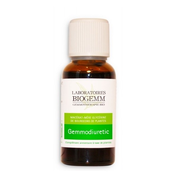 Gemmo Diuretic - Flacon 30ml Biogemm