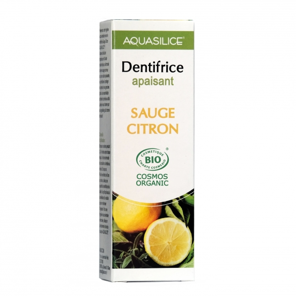 Dentifrice Silicium - Sauge Citron 50ml Aquasilice