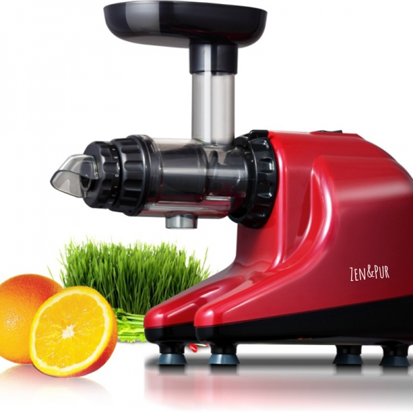 Extracteur de Jus Horizontal Rouge - Vital Juicer