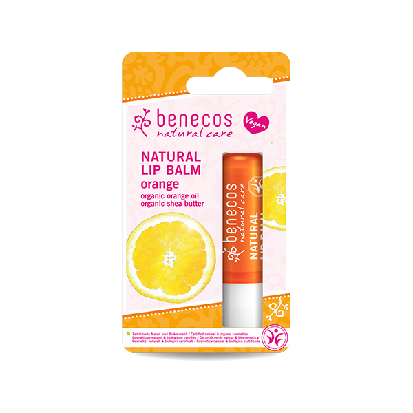 Baume a levres Orange Vegan - Benecos