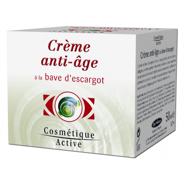 Creme anti-age Bave escargot - 50 ml Api nature