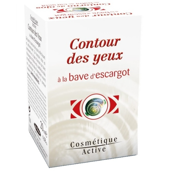 Contour des Yeux a la Bave d'escargot - 20 ml Api nature