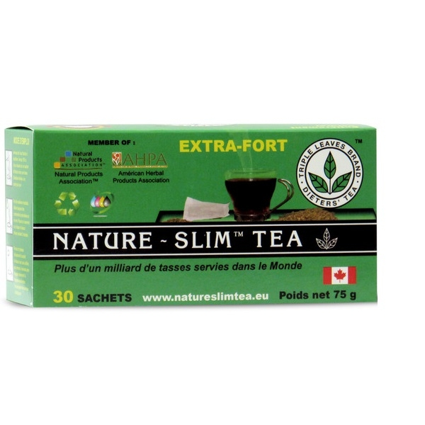 Nature Slim Tea - 30 infusettes mauve frisee