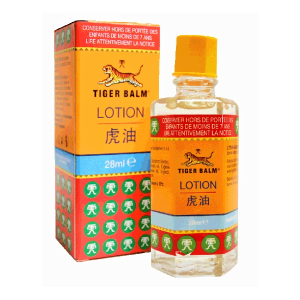 Lotion Baume du Tigre Flacon 28 ml Tiger Balm